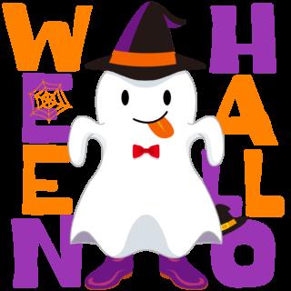 商用フリーイラスト_無料_10月_ハロウィン_おはけ_コスプレ_ghost_halloween090
