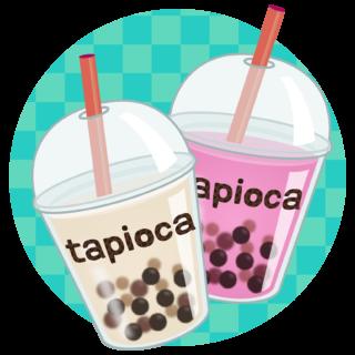 商用フリー・無料イラスト_タピオカドリンク_tapioca020
