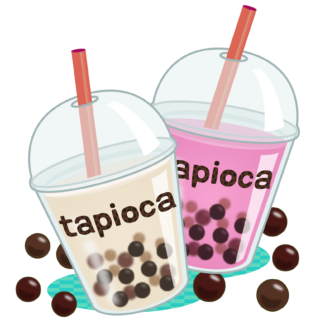 商用フリー・無料イラスト_タピオカドリンク_tapioca021