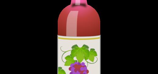 商用フリー無料イラスト_ワインボトルロゼ_ボルドーBordeaux_Wine003