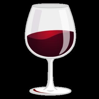 商用フリー無料イラスト_グラスワイン赤_GlassWine023