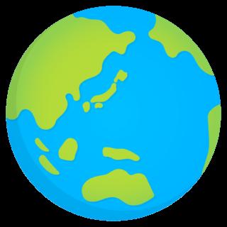 商用フリー・無料イラスト_青い地球_Earth01