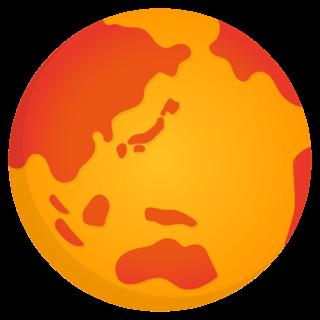 商用フリー・無料イラスト_地球温暖化_Global warming_Earth09