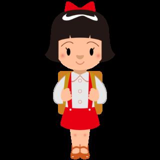 商用フリー・無料イラスト_おかっぱ頭の女の子_onnanoko001