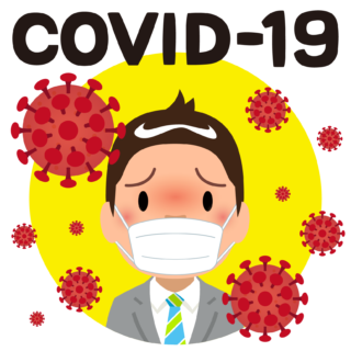 商用フリー・無料イラスト_新型コロナウイルス(COVID-19)_sick004