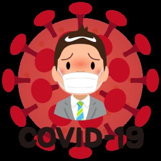 商用フリー・無料イラスト_新型コロナウイルス(COVID-19)_sick005