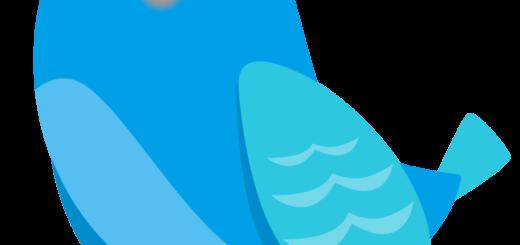 商用フリー・無料イラスト_幸せの青い鳥のイラスト_Happy blue bird001