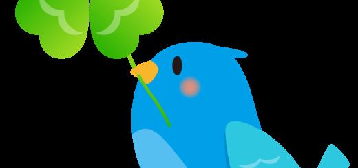 商用フリー・無料イラスト_幸せの青い鳥のイラスト_Happy blue bird003