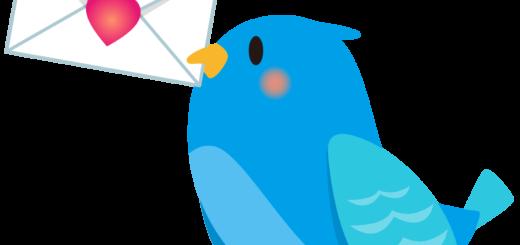 商用フリー・無料イラスト_幸せの青い鳥のイラスト_Happy blue bird006