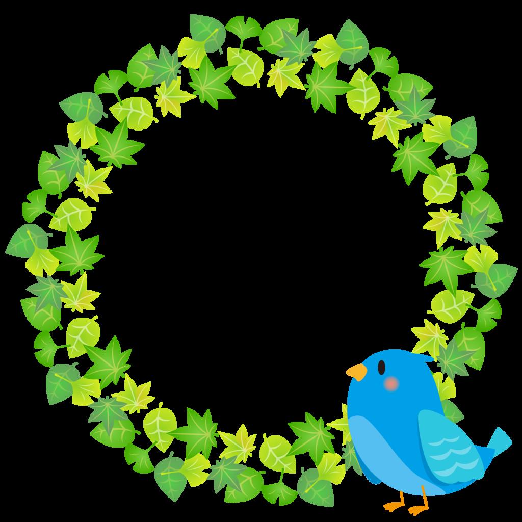 商用フリー・無料イラスト_幸せの青い鳥のイラスト_Happy blue bird008