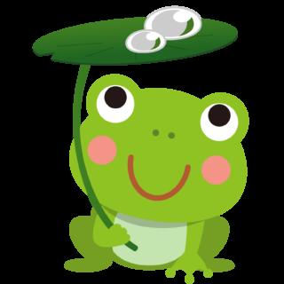 商用フリー・無料イラスト_かえるのイラスト_frog001