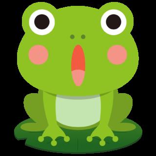 商用フリー・無料イラスト_かえるのイラスト_frog005