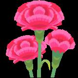 商用フリー・無料イラスト_5月母の日_カーネーションの花_mothersday013