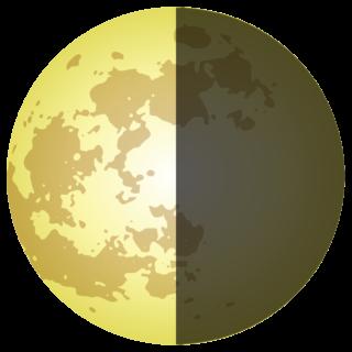 商用フリー・無料イラスト_月2(おつきさま)_下弦の月(かげんのつき)_moon028