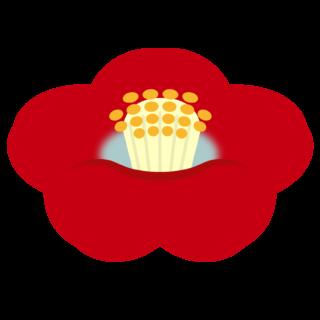 商用フリー・無料イラスト_赤い椿(つばき)の花のイラスト_tsubaki002