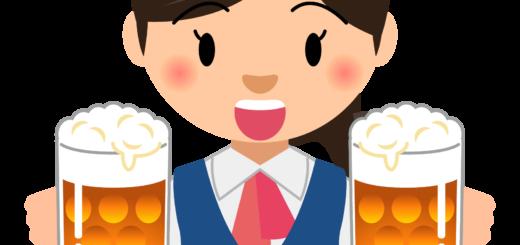 商用フリーイラスト_無料_10月_オクトーバーフェスト_ビールを持つ女性OL_Oktoberfest_028