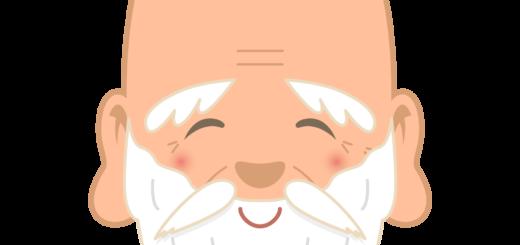 商用フリー・無料イラスト_七福神_福禄寿の顔イラスト(ふくろくじゅ/fukurokuju)_shichifukujin034