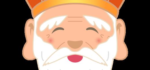 商用フリー・無料イラスト_七福神_寿老人の顔イラスト(じゅろうじん/juroujin)_shichifukujin036