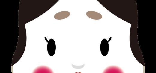 商用フリー・無料イラスト_おかめ(おたふく)_OkameOtafuku007