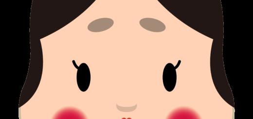 商用フリー・無料イラスト_おかめ(おたふく)_OkameOtafuku008