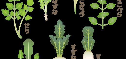 商用フリー・無料イラスト_春の七草のイラストnanakusa008