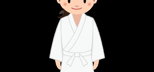 商用フリー・無料イラスト_若い女性料理人のイラスト_Japanese cook010
