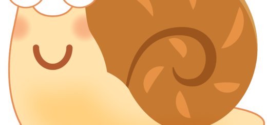 商用フリー・無料イラスト_かたつむり(蝸牛・でんでんむし)のイラスト_Snaili llustration001