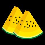 商用フリー・無料イラスト_カットスイカのイラスト_watermelon008