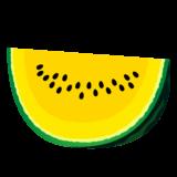 商用フリー・無料イラスト_カットスイカのイラスト_watermelon009