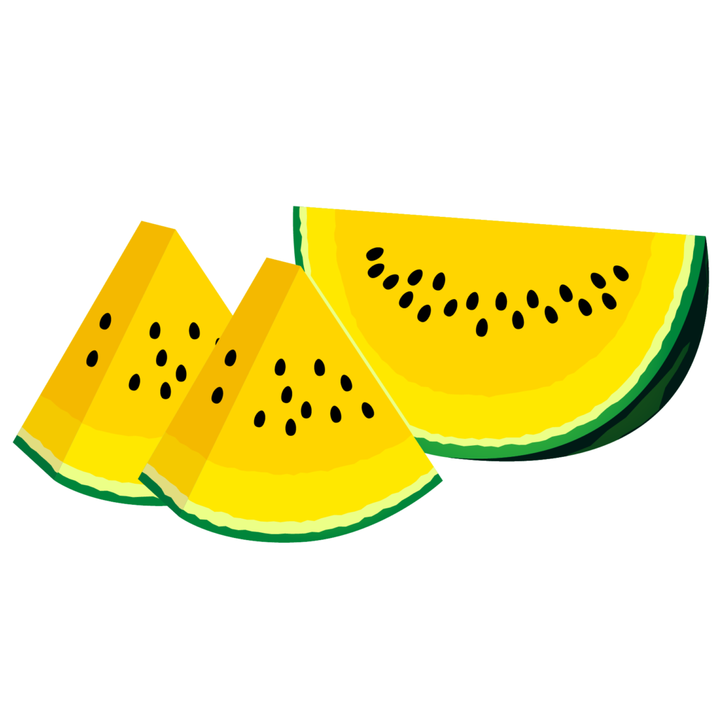 商用フリー・無料イラスト_カットスイカのイラスト_watermelon011